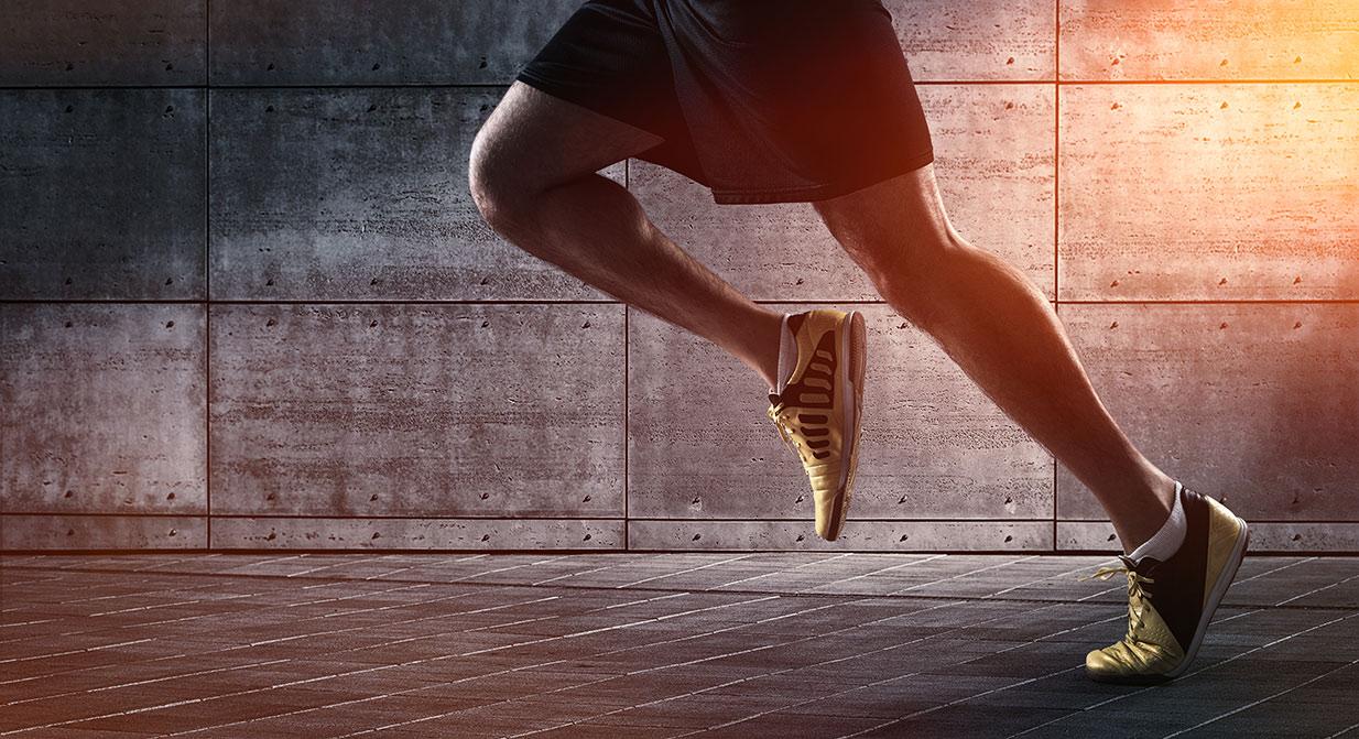 Foot & ankle pain runner