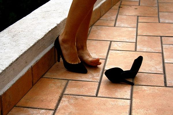 heel pain high heels