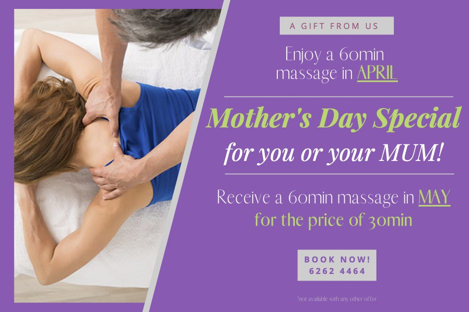 Mother's Day Massage Special